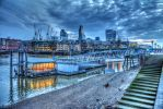 London BlackFriars Thames 2 by Jami-Deni