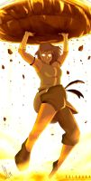 Korra The Power of The Avatar State by SolKorra