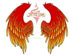 Magma Wings Tattoo by rehollys
