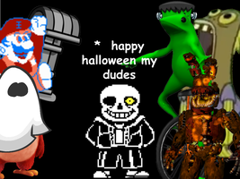 The Sp00kiest picture ever by FNaF-Crazed