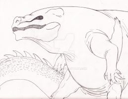 April Hybrids: Great White/Nile Crocodile by ToxicCreed