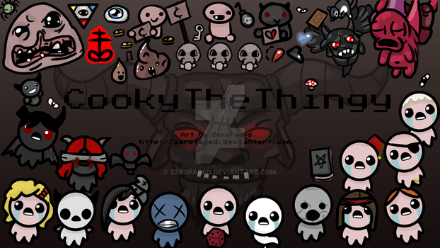 Binding Of Issac Commission by ZeroFaded