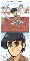 ATTACK ON PIGANS by xionMart