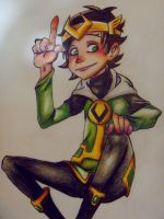 Kid Loki by sibandit