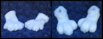 White Monster/Creature hands and feet paws by VenHybrid
