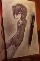 hiro sketch by azzai