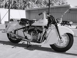 Indian Chief bw by StallionDesigns