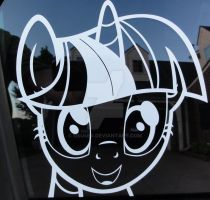 Twilight Sparkle is Best Pony Decal by osu4ev