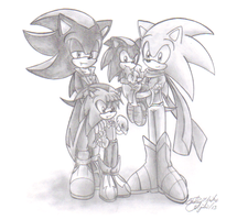 Choosen One Family by sonicartist16