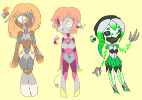Android doodle adopts -CLOSED- by Elevera