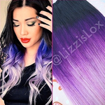 Purple Ombre by lizzisaurus