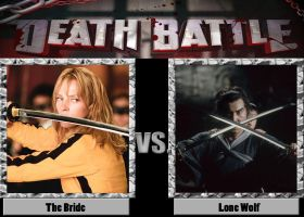 Death Battle: The bride vs. the lone wolf by CZProductions