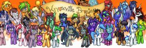 Knoxville Bronies group banner by Cazra
