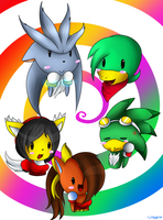 The awesome people colored.:u by lilliganto