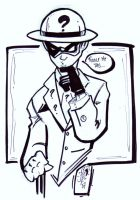 Con Sketch The Riddler by JazzRy