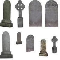 Tombstone_PNGs_by_Metallicow by Metallicow