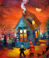 Hansel And Gretel by ninelkl