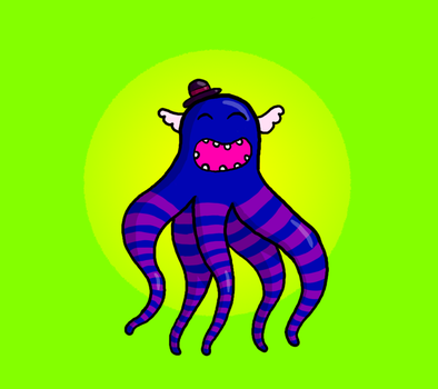 Octopus by Rose-Layon