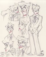 Joker Expressions by zillabean