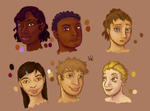 Face shape practice by Alisha-town