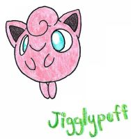 Jigglypuff by FrozenFeather
