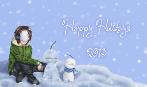 Happy Holidays Everybody by Himikai-chan