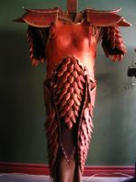 Elven Female Leather Armor by Flacusetarhadel