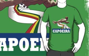 Capoeira Batizado Guy Shirt by drg