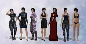 Lorayne Outfits Set 2 by SonYume