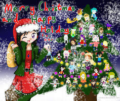 :Merry Christmas 2010: by iHappy-Cookie