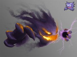 Haunter redesign by josea302