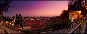 Zagreb Sunset by geckokid