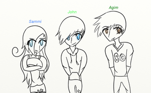Sam,john,and agim by SammySingASong