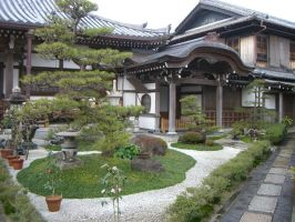 Temple of Japanese Cemetery by maikoneko