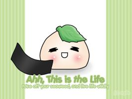 Onigiri-This is the Life - WP by orple