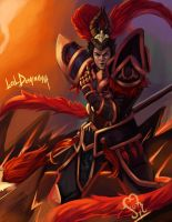 J4 Warring kingdoms fanart by Johed
