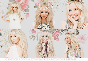 Candice Accola Icon Pack by MidnightRippah