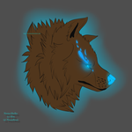 Shelby-The ice wolf by NocteBruti
