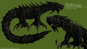 Nidhogg - High-Poly by iemersonrosa