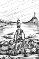 Tin Woodman and the 40 Wolves by aquilianranger
