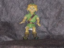 Zelda Young Link Papercraft by Neji23