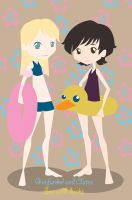 Garfunkel and Oates by Rosaricce