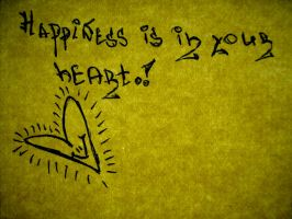 happiness is in your heart. by teditooo-hr