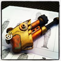 Steampunk Ray Gun by Lalalalea35