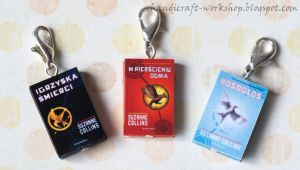 Hunger Games charms by Panna-Kot