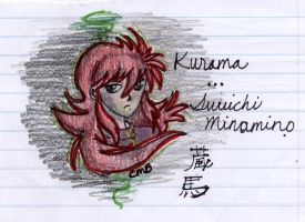 Kurama sketch 1 by odes-to-no-one