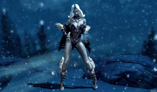 Killer Frost - H.O.T Injustice Art Contest by Natsumi494
