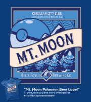 Mt. Moon Pokemon Beer T-shirt by digitalfragrance