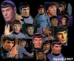 Nimoy As Spock: 1967 by Spock-Fans-Unite