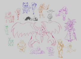 me in undertale drawpile by Guuchama
